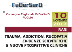 TRAUMA, ADDICTION, PSICOPATIA. EVIDENZE SCIENTIFICHE E NUOVE PROSPETTIVE CLINICHE: DALLA NEUROBIOLOGIA E FARMACOLOGIA, ALLA PSICOTERAPIA E ALL'INTERVENTO NEL SOCIALE